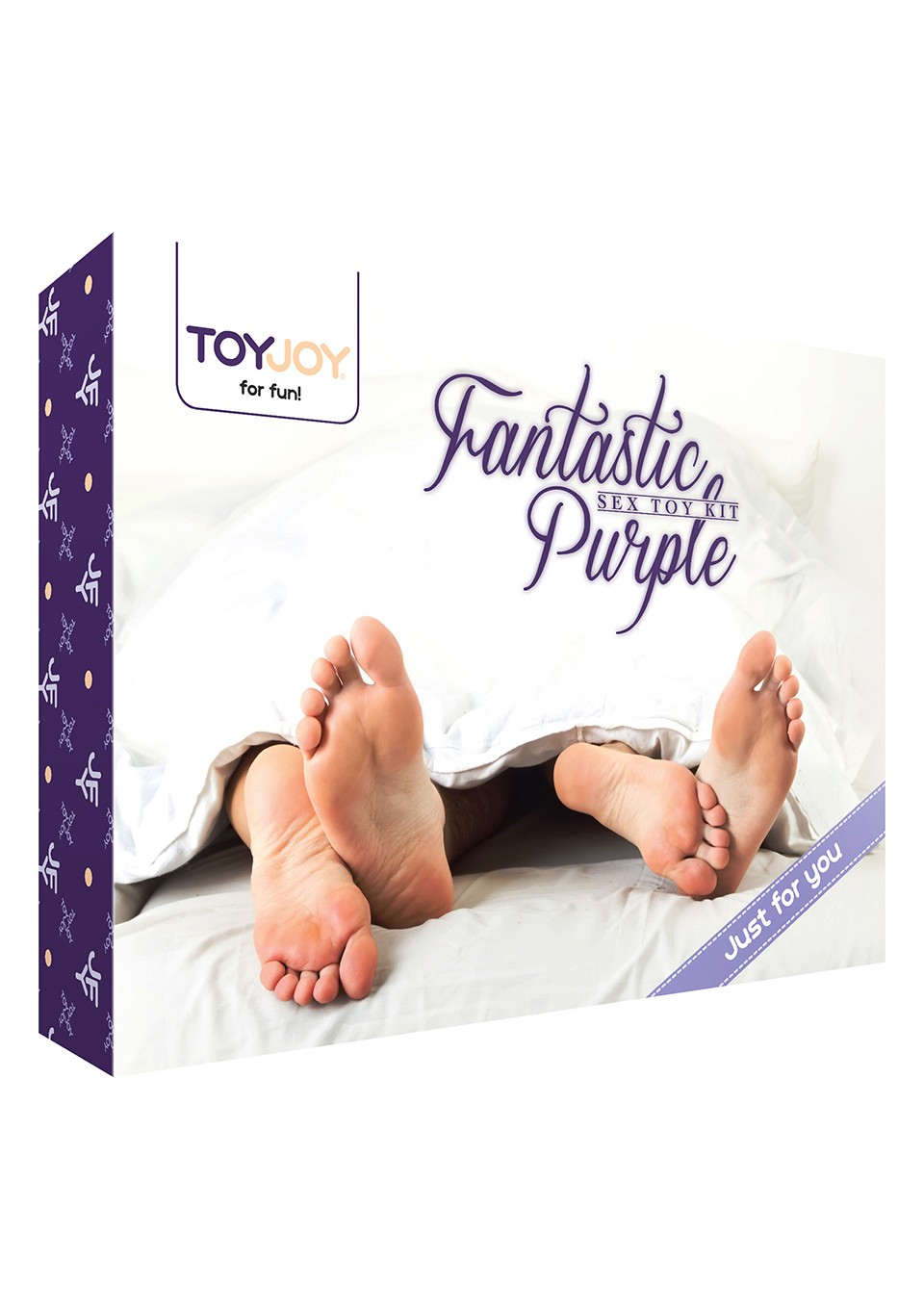 Sada FANTASTIC PURPLE SEX TOY KIT